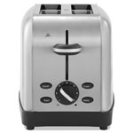 Oster Extra Wide Slot Toaster, 2-Slice, 8 x 12 7/8 x 8 1/2, Stainless Steel