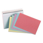 Oxford Spiral Index Cards, 4 x 6, 50 Cards, Assorted Colors