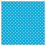 "Pacon Fadeless Designs Bulletin Board Paper, Classic Dots Aqua, 48"" x 50 ft."