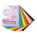 Riverside Paper Construction Paper, Flame-Resistant, 9 x 12, Assorted Colors, 50 Sheets per Pack