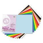 Riverside Paper Construction Paper, Flame-Resistant, 12x18, Assorted Colors, 50 Sheets per Pack