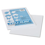 "Riverside Paper Construction Paper, 9"" x 12"" Sheets, White"