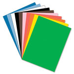 Riverside Paper Construction Paper, 76 lbs., 24 x 36, Assorted, 50 Sheets/Pack