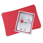 "Riverside Paper Construction Paper, 12"" x 18"", Holiday Red"