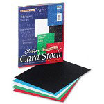 "Riverside Paper Reminiscencet Card Stock, 65 lb. 8 1/2"" x 11"", Assorted Glitter"