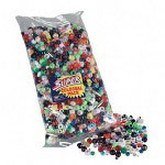 Pacon Colossal Plastic Beads, 14 Oz, Assorted