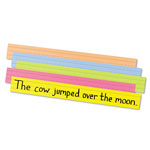 "Pacon Sentence Strips, Sturdy Tagboard, 3""x28"", 100/Pack, Assorted"