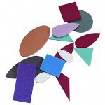"Pacon Fun Foam Shapes, 2mm, Sizes 7/16"" to 2"", 720/Pack, Assorted"