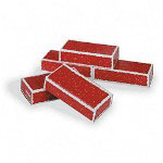"Pacon Corrugated Blocks, 3""x6""x12"", Red"