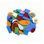 Pacon Glitter Foam Shapes, Assorted Shapes/Colors/Sizes, 720 Pieces Per Pack