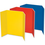 "Pacon Presentation Foam Board, Tri-fold, 48"" x 36"", Assorted"