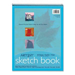 "Pacon Medium Weight Acid Free Sketch Books, 11"" x 14"""