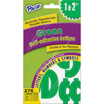 "Pacon Self Adhesive Letters, 1""-2"", 276 Char, GN"