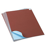 Pacon Tandem Tones Poster Board, 14 pt., 22 x 28, Light Blue/Brown