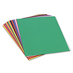 Pacon Construction Paper, 58 lbs., 24 x 36, Assorted, 50 Sheets/Pack