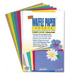 Pacon Waffle Paper Sheet Assortment 12`` x 18``