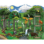 "Pacon Mind Sparks Eco-Puzzle, 24"" x 30"", 100 Pieces, Assorted"