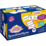 Pacon Mind Sparks Synoantonyms, 400 Cards, Assorted
