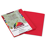 Pacon Tru-Ray Construction Paper, 76 lbs., 9 x 12, Scarlet