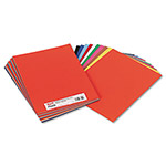 Pacon Sulphite Construction Paper, 76 lbs., 9 x 12, Assorted