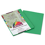 Pacon Sulphite Construction Paper, 76 lbs, 9 x 12, Holiday Green