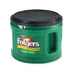 Folgers® 00374EA Ground Coffee, Decaffeinated, 26 Ounce Can