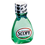 Scope® Mouthwash, Mint, 1.5oz Bottle, 180/Carton