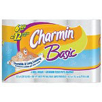 Charmin Charmin Big Roll 2 Ply Bathroom Tissue, 70' Roll, 4 Rolls per Pack