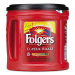 Folgers Ground Coffee, Regular, 39oz. Can