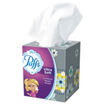 Puffs Facial Tissue, Two-Ply, White, 56 Sheets/Box