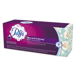 Puffs Facial Tissue, 2-Ply, White, 8.2 x 8.4, 56 Sheets/Box, 3/Pack