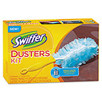 Swiffer disposable duster, with handle, yellow