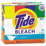 Tide Bleach Powder Laundry Detergent, 214 Oz