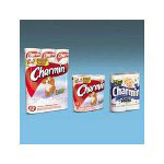 Charmin Charmin® Premium Bulk Bathroom Tissue, One Ply, 4 Rolls per Pack