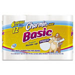 Charmin® Basic Big Roll, One-Ply, 264 Sheets/Roll, 6/Pack