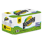Bounty® Perforated Paper Towels, 9 x 10.4, White, 52 Sheets/Roll, 15/Pack