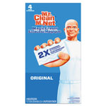 "Mr. Clean Magic Eraser - All Purpose, 2 2/5"" x 4 3/5"", 1"" Thick, White, 4/Box"
