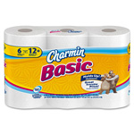 Charmin Bathroom Tissue, 1-Ply, 308 Sheets, 8PK/CT, White