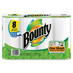 Bounty Select-A-Size Paper Towel, 105Shts, 8RL/PK, White