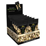 Paramount Wonderful Pistachios, Salt & Pepper, 1.25oz Pack, 12/Box