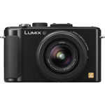 Panasonic Low Light Camera, F1.4 Lense, 10.1MP, 1080/60p HD, Black