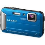 Panasonic Lifestyle Touch Camera, Digital, Waterproof, Blue