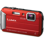 Panasonic Lifestyle Touch Camera, Digital, Waterproof, Red