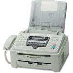 "Panasonic Fax Machine, Multifunction, 16-9/10W"" x 18-9/10""Dx14-3/5""H, STGY"