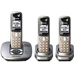 Panasonic Digital Cordless Telephone/Answering System, 3 Handsets