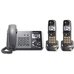 Panasonic Digital Corded/Cordless Answering System, 2 Handsets