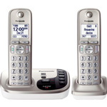 Panasonic Digital Cordless Answering Sys, Expandable, 2 Handsets, SR