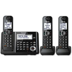 Panasonic Cordless Phone/Answering, Talking Caller ID, Black