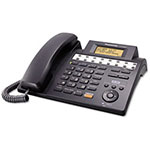 Panasonic KX-TS4200B Integrated Phone System, Corded, Four Lines, Black