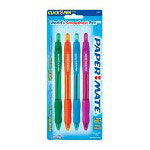 Papermate® Pen Ballpoint Profile Retractable 1.4mm Flash 4/ Pack